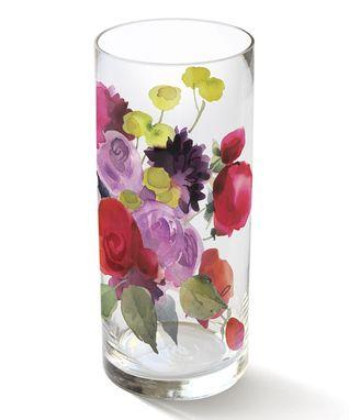 Dahlia Rose Heather Vase