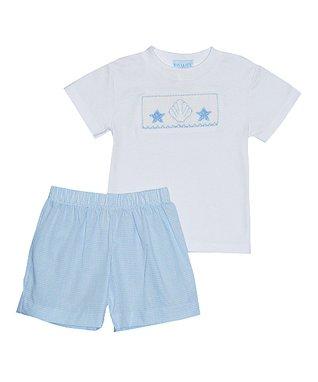 Vive La Fête Pink Zigzag Bunny Bishop Dress - Infant & Toddler