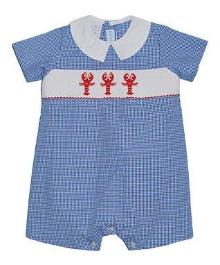 Vive La Fête White Nautical Tee & Blue Shorts - Infant & Girls