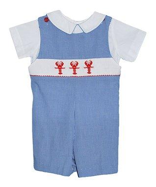 Vive La Fête Fuchsia Geometric Hula Smocked Dress - Infant & Toddler