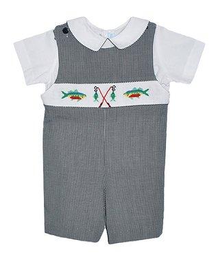 Vive La Fête Blue Polka Dot Seashell Tank & Capri Pants - Infant & Toddler