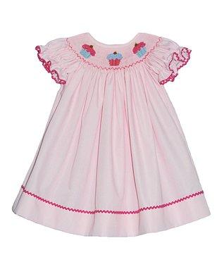 Vive La Fête Red Polka Dot Ice Cream Bubble Bodysuit - Infant