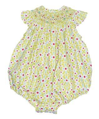Red Heart Smocked Angel Bishop Dress - Infant, Toddler & Girls
