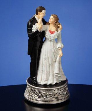 Phantom & Christine 25th Anniversary Musical Figurine