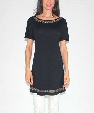 Design 26 Black Embellished Tunic