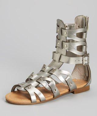 Silver Atta Gladiator Sandal