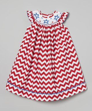 Pink Smocked Noah's Ark Bishop Dress - Infant, Toddler & Girls