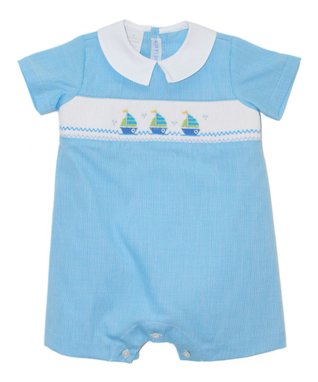 Vive La Fête Blue Paisley Tank & Capri Pants - Infant & Toddler