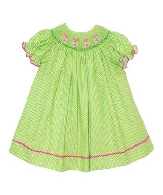 Vive La Fête Blue Sailing Cross-Back Dress - Infant, Toddler & Girls