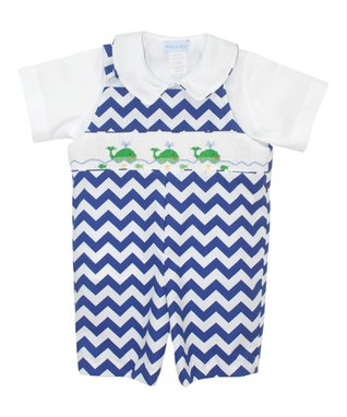 Vive La Fête Bright Blue Bishop Dress - Infant, Toddler & Girls