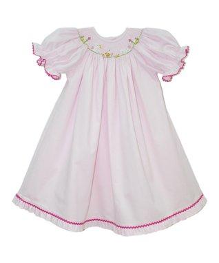Vive La Fête White Chris Silk Top & Green Shorts - Infant & Toddler