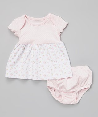 Duck Duck Goose Pink & Purple 'Girly Girl' Shorts Set