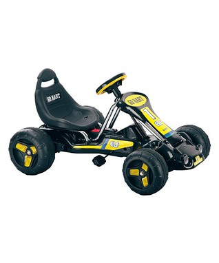 Lil' Rider Black Stealth Pedal Go-Kart Ride-On