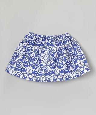 Gray & Turquoise Flower Ruffle Dress - Infant, Toddler & Girls