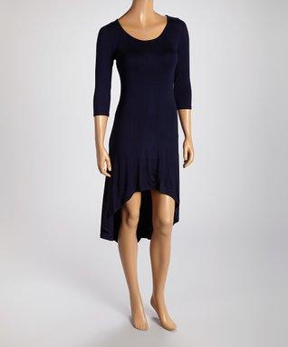 American Twist Slate Scoop Neck Ruched Maxi Dress