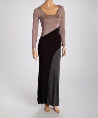 American Twist Purple Drape Asymmetrical Dress