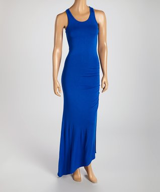 American Twist Black Classic V-Neck Maxi Dress