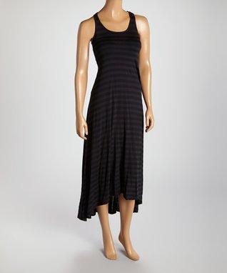 American Twist Black Racerback Maxi Dress