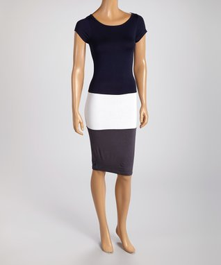 American Twist Royal Blue Sleeveless Maxi Dress