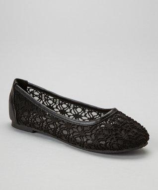 Black Lace Oxford