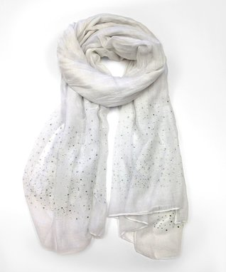 East Cloud Turquoise Rose Scarf