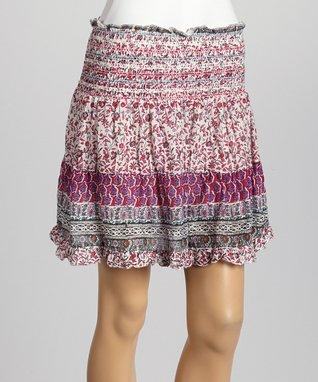 Pink Three-Quarter Sleeve Top