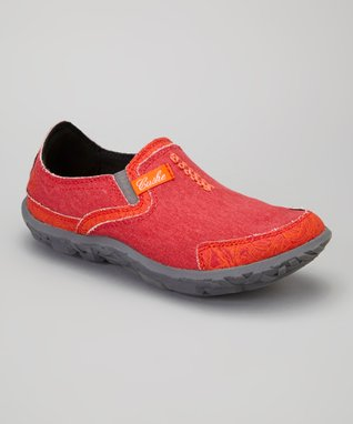 Red Tropic Clog