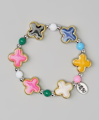 Pink Flower Love Couture Baby Bracelet