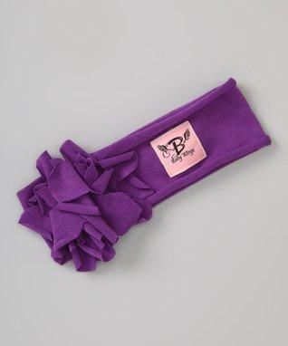 Purple Sweet Petite Headband