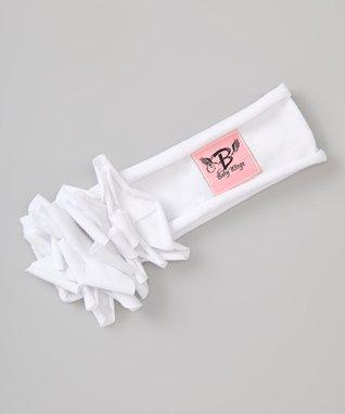 White Sweet Petite Headband