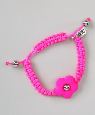 Purple Flower Love Couture Baby Bracelet