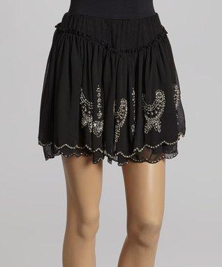Olive Drop-Waist Dress