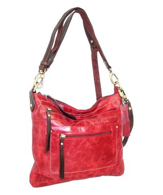 Nino Bossi Handbags Red Callie Crossbody Bag
