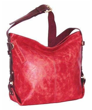 Nino Bossi Handbags Red Heavenly Hobo Bag