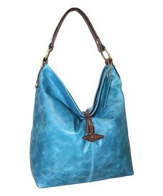 Nino Bossi Handbags Denim Blue Fresno Feed Bag