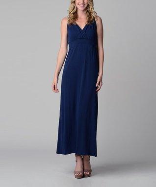 Nighttime Blue Maxi Dress