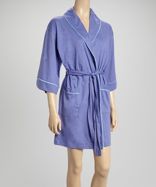 Bottoms Out Gal Light Purple Robe