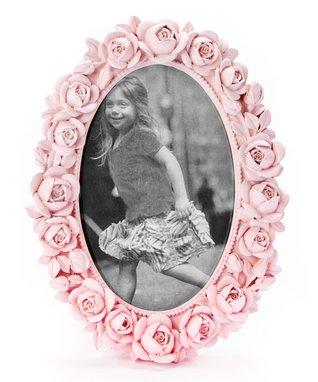 Pink Rose Resin Frame