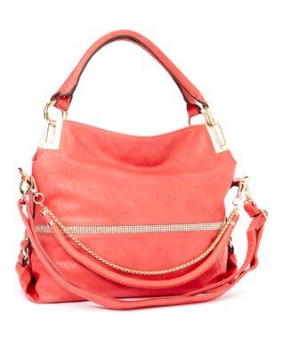 MKF Collection Coral Twister Shoulder Bag