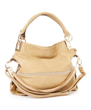 MKF Collection Camel Twister Shoulder Bag