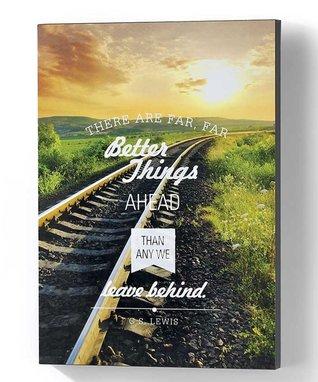 'Better Things Ahead' Wall Canvas