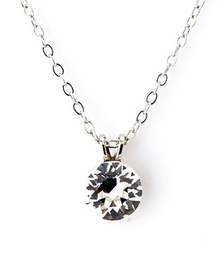 Clear Pendant Necklace Made With SWAROVSKI ELEMENTS