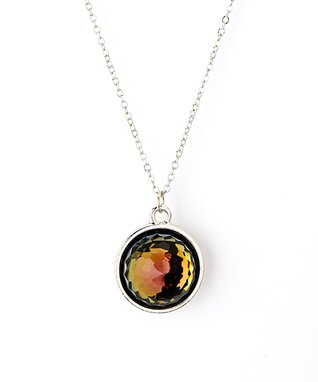 Tabac Dome Pendant Necklace Made With SWAROVSKI ELEMENTS