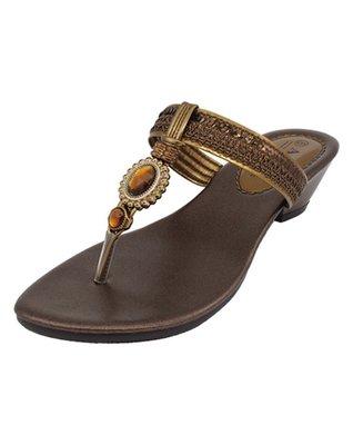 Agape Bronze Vivo Sandal