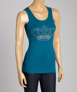 Brown & Pink Royal Crown Tank
