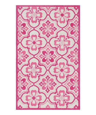 zulily-Exclusive Pink Zoey Rug