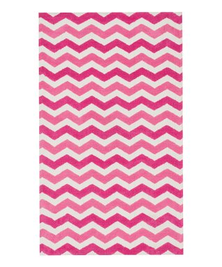 zulily-Exclusive Pink Wave Zoey Rug