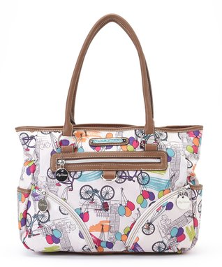 Lily Bloom Up In The Air Twin Pocket Satchel