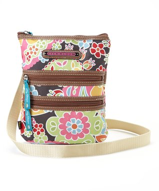 Lily Bloom Caravana Multi Section Crossbody Bag