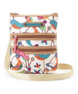 Lily Bloom Tweety Twig Multi Section Crossbody Bag